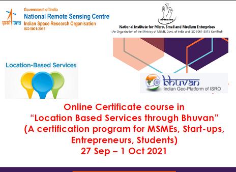 Location Based Services through Bhuvan